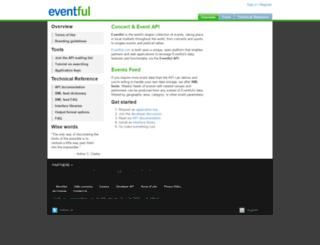 api.evdb.com screenshot