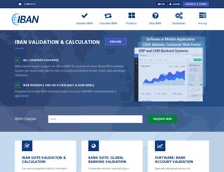 api.iban.com screenshot
