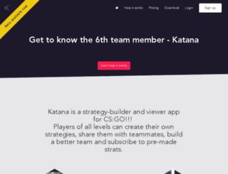 api.katanaapp.com screenshot