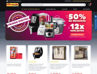api.ricardoeletro.com.br screenshot
