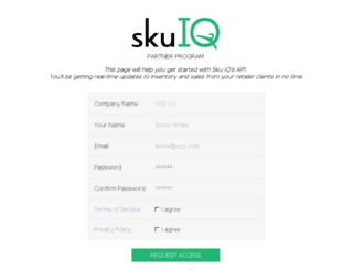api.skuiq.com screenshot