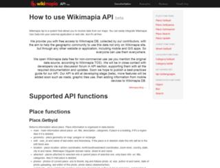 api.wikimapia.org screenshot