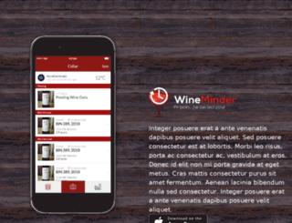 api.wineminder.com.au screenshot