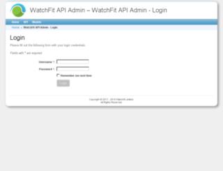api2-staging.watchfit.com screenshot