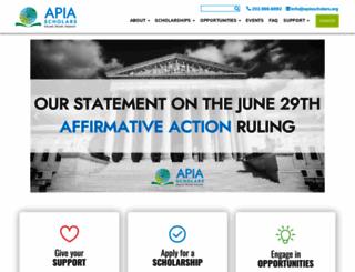 apiasf.org screenshot
