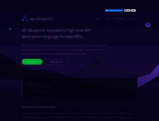 apiblueprint.org screenshot