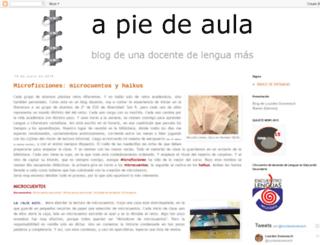 apiedeaula.blogspot.com screenshot