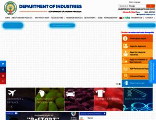 apindustries.gov.in screenshot