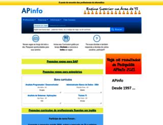 apinfo2.com screenshot