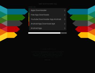 apk-downloader.org screenshot