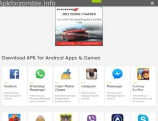 apkforzombie.info screenshot