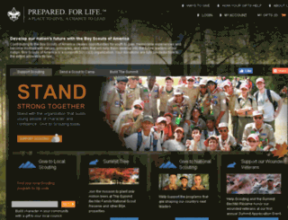 aplacetogive.scouting.org screenshot