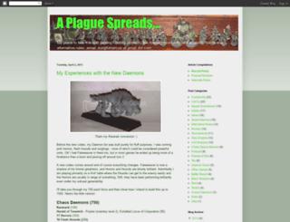 aplaguespreads.blogspot.com screenshot