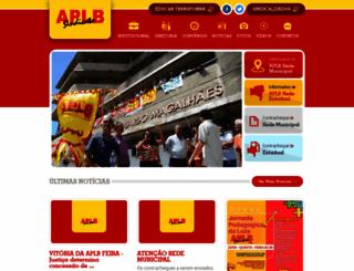 aplbfeira.com.br screenshot