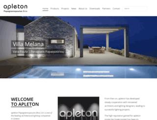 apleton.com.gr screenshot