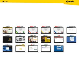 aplic.inmetrics.com.br screenshot