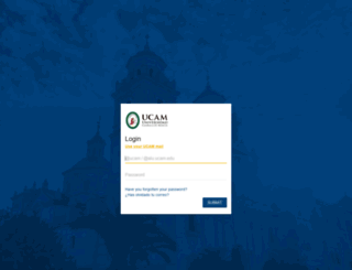 aplicaciones.ucam.edu screenshot