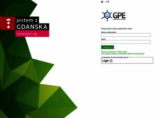 aplikacje.edu.gdansk.pl screenshot