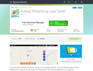 aplikasi-penghitung-luas-tanah.droidinformer.org screenshot
