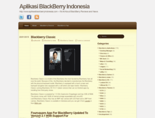 aplikasiblackberryindonesia.wordpress.com screenshot