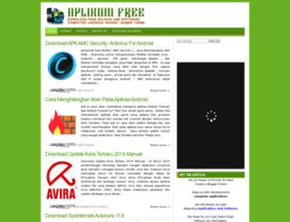 aplikomfree.blogspot.com screenshot
