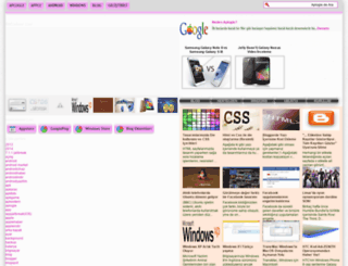aplogle.blogspot.com.tr screenshot
