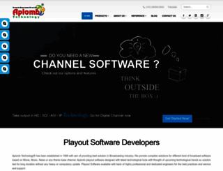 aplombtechnology.com screenshot