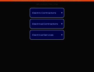 aplus-electric.com screenshot