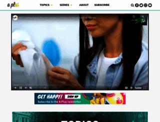 aplus.com screenshot