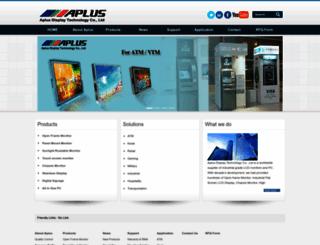 apluslcd.com screenshot