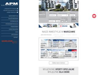 apm-development.com.pl screenshot