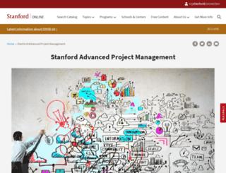 apm.stanford.edu screenshot