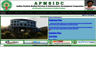 apmsidc.ap.nic.in screenshot