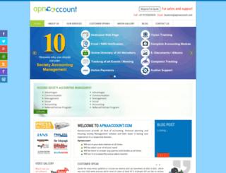 apnaaccount.com screenshot