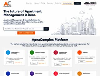 apnacomplex.com screenshot