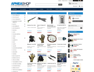 apneashop.it screenshot