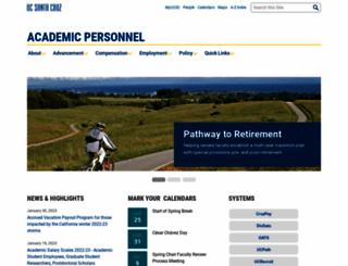 apo.ucsc.edu screenshot
