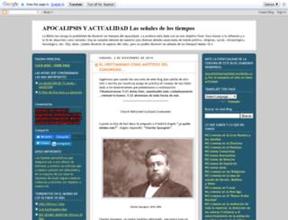 apocalipsisyactualidad.blogspot.mx screenshot