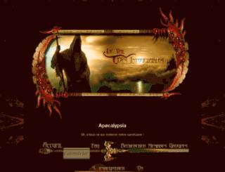 apocalypsia.jdrforum.com screenshot