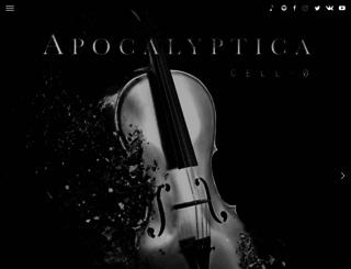 apocalyptica.de screenshot