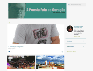 apoesiafalaaocoracao.blogspot.com screenshot