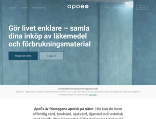 apoex.se screenshot
