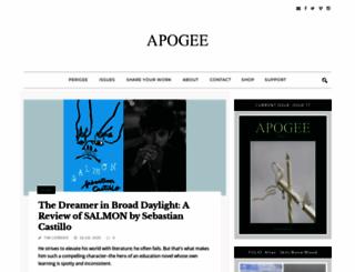 apogeejournal.org screenshot