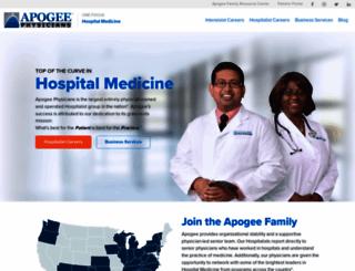 apogeephysicians.com screenshot