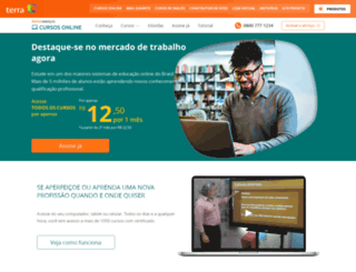 apoioescolar.terra.com.br screenshot