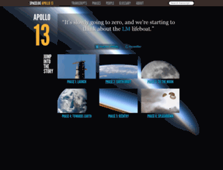 apollo13.spacelog.org screenshot