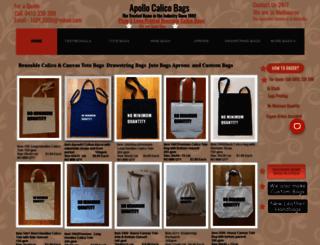 apollocalicobags.com.au screenshot