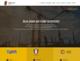 apolloconstructions.com screenshot