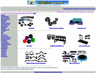 apollofitness4u.com screenshot