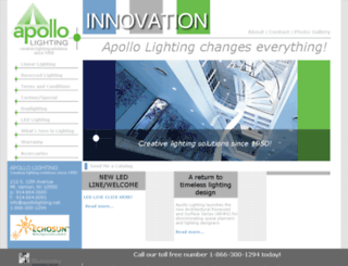 apollolighting.net screenshot